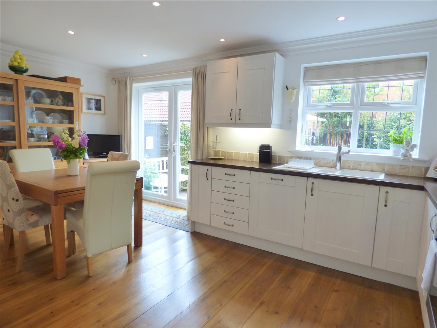 Kitchen Diner Flooring House Semi Detached 44 The Orchard Leven Beverley East